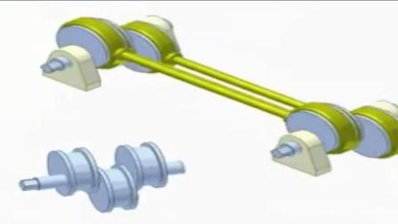 神奇的机械原理, 这是一个平行四边形机制, 你看懂了吗