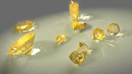 三维珠宝模型与材质