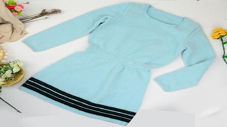 【昭尔茹悦】第62集-1【灵叶】成人毛衣裙好看又简单