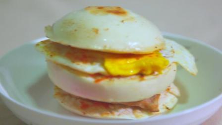 教你做中式汉堡, 做法简单美味营养, 连老外都赞不绝口