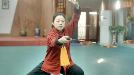剑之气 心之意 | 郑彩霞演练陈式太极剑49式