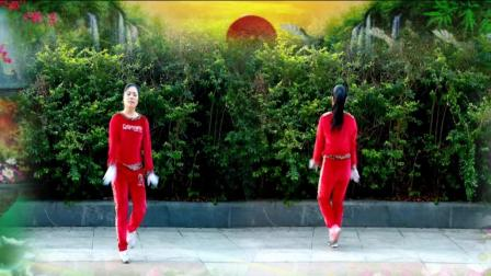 优柔广场舞原创舞步操第二套第九节《有位好姑娘》伸展运动