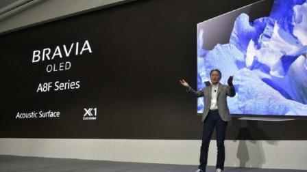 论电视设计只服索尼! 极简美学设计索尼发布A8F 4K OLED电视