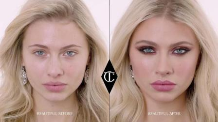 Charlotte Tilbury-New Year's Eve Glam Smokey Eye Makeup Tutorial