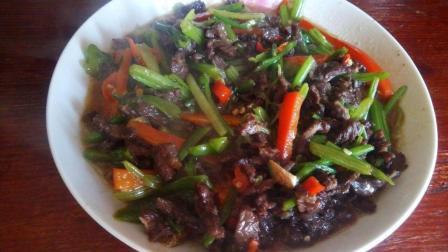 做美食 牛肉怎么做好吃 炒牛肉的家常做法
