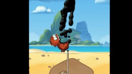 采油小怪物NO.1蛋挞被英文搞蒙圈 新游戏试玩 喝油的小怪兽 笑笑小悠游戏