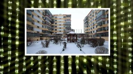 中润物业哈热小区迎来2018年第一场大雪