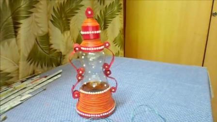 生活小窍门 废物利用教你用塑料瓶制作小台灯 DIY手工制作