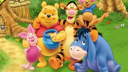 小熊维尼与跳跳虎  跳跳虎的蜂蜜糖果