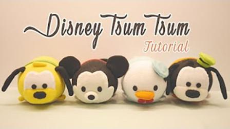 【喵博搬运】【可爱手工】超可爱!用毛绒长袜做几个Tsum Tsum公仔~´▽`