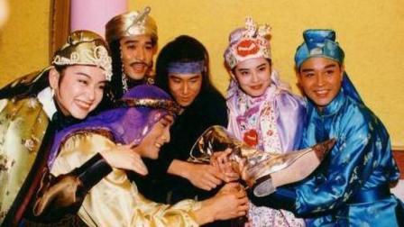 《东成西就》当年拍摄花絮, 看古巨基怎么逗哥哥青霞姐