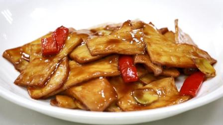 天羽美食 腊八蒜炒杏鲍菇, 色香味俱全的家常菜