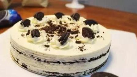 简单几步就能做出的完美下午茶, 奥利奥芝士蛋糕~