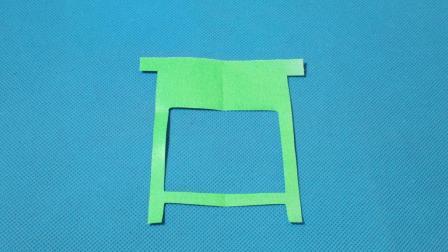 剪纸小课堂661: 桌子 儿童剪纸教程大全 亲子手工DIY教学