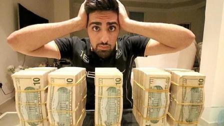 这个迪拜土豪一整年都在买车, 2018年了还拿现金去买布加迪跑车!
