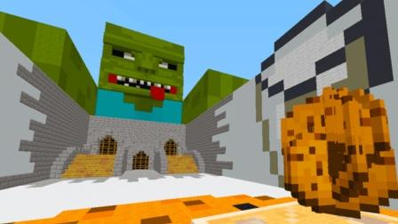大海解说 我的世界Minecraft 僵尸饼干保卫战