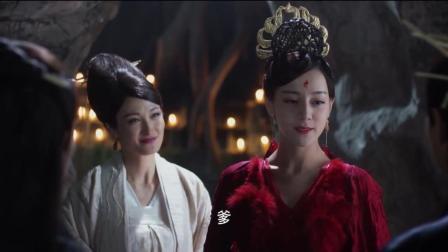凤九一身红裙红似火, 比结婚还喜庆, 去接受万千子民的朝拜!