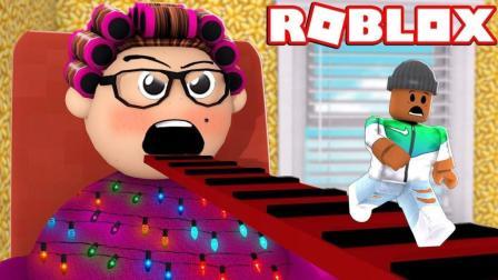 【Roblox邪恶奶奶逃生】逃离恐怖吃人奶奶! 惊险飞越老人院! 小格解说 乐高小游戏