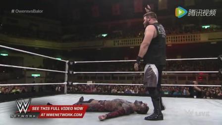 wwe芬利 WWE 2015NXT日本站 恶魔芬对战欧文斯争夺NXT冠军腰带