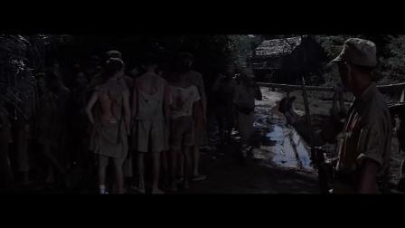 《桂河大桥》英国士兵黎明,日军毫不犹豫出手击,真惨