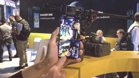 女友查岗必备? 全景视频通话来了! Insta360 NanoS全景相机CES2018魏布斯现场体验