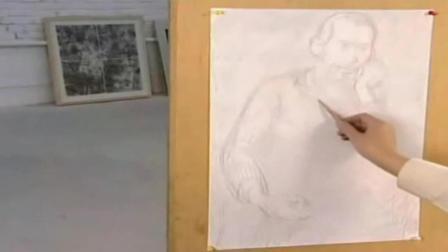 素描动漫人物视频 幼儿素描画图片大全 绘画初学者入门教程