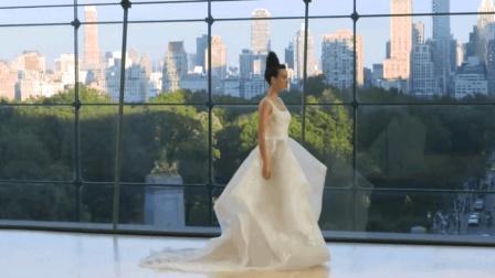 高定婚纱分享, 超模走秀展现爱情的美好一面
