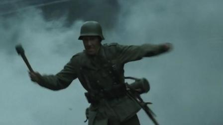 《斯大林格勒战役》德军士兵穿越交火线,用手榴弹突破俄军