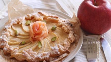 苹果还能这样吃? 100秒教会你苹果派的做法, 简单好学, 超美味!