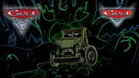 【cars】汽车总动员魔性嗨歌Panama赛车总动员C哩C哩闪电麦昆风火轮蜘蛛侠