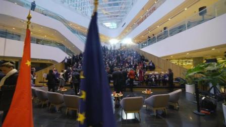 法国总统马克龙来访SOHO 3Q