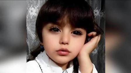她被赞为全世界最美女孩, 爸爸辞职给他当保镖