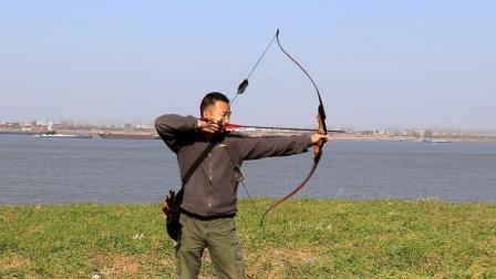 灵云二代传统美洲猎弓野外评测, 大风中依然箭箭精准