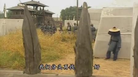 《寻秦记》项少龙潜进军营, 企图救下兄弟, 无奈被人发现, 兄弟当场惨死