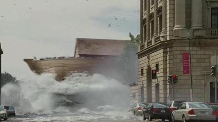 5分钟看完美国喜剧电影《冒牌天神2》这艘船撞上了美国的国会大楼, 里面装满了珍稀动物!