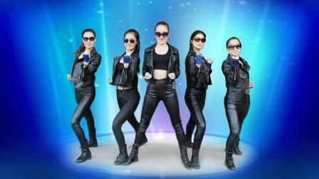 帅呆了! 酷毙了! 五名妹子原创舞蹈《功夫摇》凤凰香香广场舞