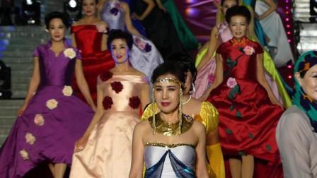 天坛周末10538 模特表演《一带芬芳 一路辉煌》西城银帆艺术团模特队