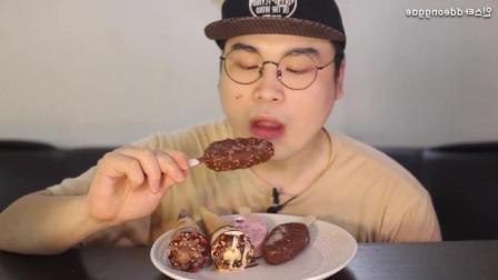 韩国的蓝山冰激凌有多好吃? 这十个冰淇淋不够小哥吃的