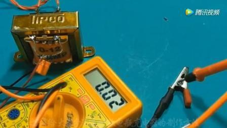 仅需要两个二极管一个电容, 就可以做一款220V转12V电瓶充电器