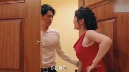 男子来找女友, 嫂子徐冬冬开门后, 男子瞬间不淡定了