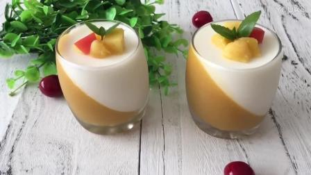 烘焙玫瑰花视频教程 双色慕斯杯的制作方法dd0 张不十爱烘焙教学视频