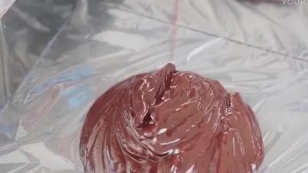 烘焙糕点梦幻三色松露巧克力, 好想吃巧克力慕斯蛋糕制作方法