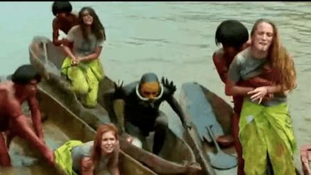 3分钟看完冒险电影《绿色地狱》讲述食人魔部落惊险脱身