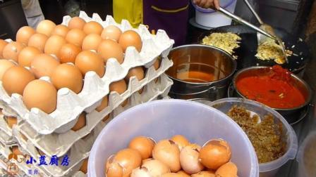 中国大妈外国街头卖家乡特色小吃, 十平米小店, 每天坐满客人