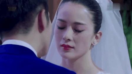 极光之恋中婚礼上新郎正要亲吻新娘, 突然大屏幕播放的视频让人措手不及