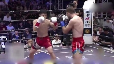 中猛将邱建良KO欧洲拳王, 外媒号称中国又出一个李小龙!