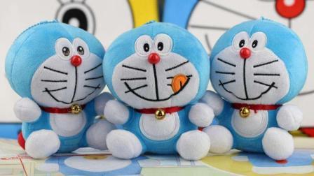 哆啦a梦机器猫叮当猫出租车玩具早教游戏视频