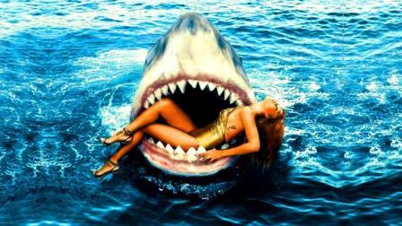 老烟斗看电影 第一季:鲨鱼与美女之间难以启齿的故事 几分钟看完科幻片《深海狂鲨》 46