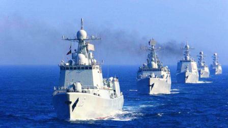 中国海军40艘战舰齐聚东海 随后一声巨响 对手再也不敢妄动