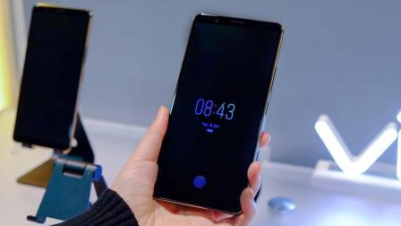 VIVO手机推出新品种, 屏下识别功能, 让你一秒支付成功!